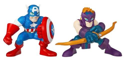 Marvel Super Hero Squad: Hawkeye & Captain America