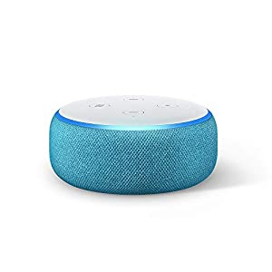 Echo Dot Kids Edition, an Echo designed for kids, with parental controls and 2 year worry-free guarantee, Blue