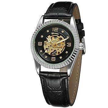 XKC-watches Relojes de Mujer, Winner Mujer El Reloj mecánico Reloj de Pulsera Reloj