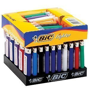 Bic Lighters Mini (BIC Mini Lighters - Assorted Colors - Sold As 50 Child Resistant Lighters)