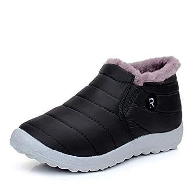 Amazon.com: Fumak: Women Boots Winter Warm Down Snow Boots