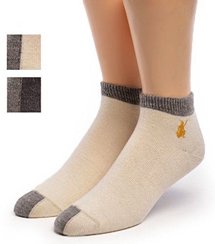 Warrior Alpaca Socks - Womens Sport Light Mini Crew, Alpaca Wool Socks