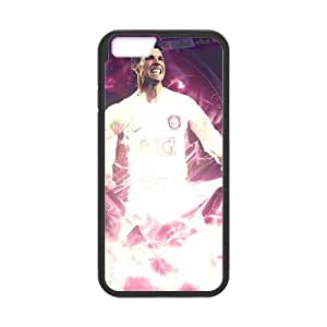 iPhone 6 Plus 5.5 Inch Cell Phone Case Black Cristiano Ronaldo NTI Phone Case Clear