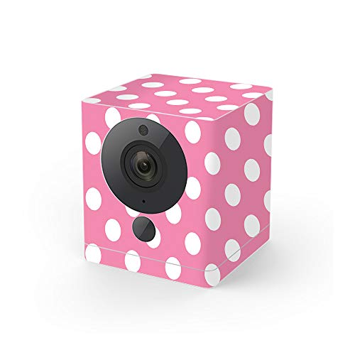- MightySkins Skin Compatible with Wyze Cam V2 - Mini Dots | Protective, Durable, and Unique Vinyl Decal wrap Cover | Easy to Apply, Remove, and Change Styles | Made in The USA