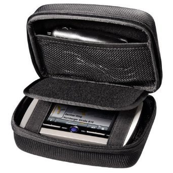 Navi Rheme Black Hard Carry Case For in Car GPS TomTom Via 53 52 Start 25 52 50 Go 50 500 5'' GPS Sat Nav With Accessory Storage and Lanyard product image