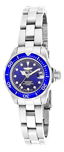 Invicta Women's 17034 Pro Diver Analog Display Japanese Quartz Silver Watch