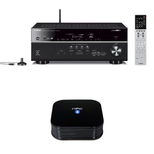 yamaha rx v677 7 2 channel wi fi network av receiver with. Black Bedroom Furniture Sets. Home Design Ideas