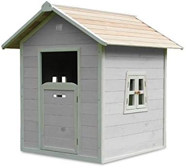 EXIT Beach 100 Wooden Playhouse - Grey Casa de Juegos de Suelo - Casas de Juguete (Casa de Juegos de Suelo, Niño/niña, 3 año(s), Gris, 10 año(s), Madera): Amazon.es: Juguetes y juegos