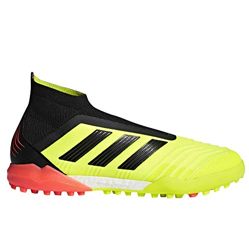 adidas Predator Tango 18+ Turf Shoe - Men's Soccer 11 Solar Yellow/Core Black/Red ()