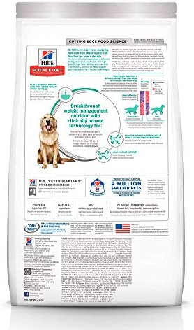 Hill's Science Diet, Perfect Weight (Control de Peso) Alimento para Perros Adultos, Seco (Bulto) 12.9kg 3