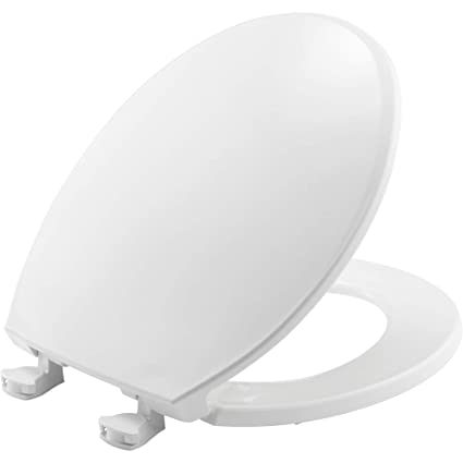 Excellent Church 3Ec 000 Toilet Seat With Easy Clean Change Hinges Round Plastic White Ncnpc Chair Design For Home Ncnpcorg