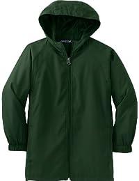 Sport Tek Youth Hooded Raglan Jacket