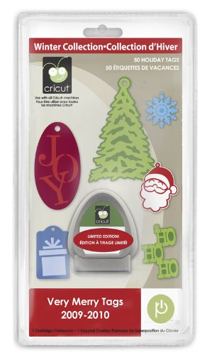 - Cricut Seasonal Cartridge, Very Merry Tags