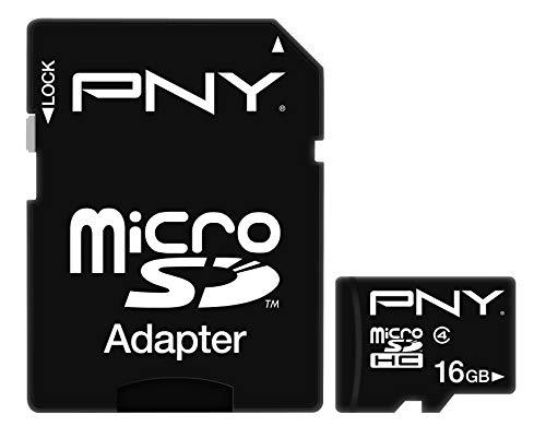 PNY 16GB Peformance Class 4 microSDHC Flash Memory Card 20-Pack (P-SDU16G4-GEX20)