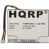 HQRP Battery for Texas Instruments TI-84 Plus C Silver Edition Calculator PN-P11P35-09-N01 N2/AC/2L1/A 00747 F-0310 3.7L0800SP 541384530001-G1012 P11P35-09-N01 + HQRP Coaster