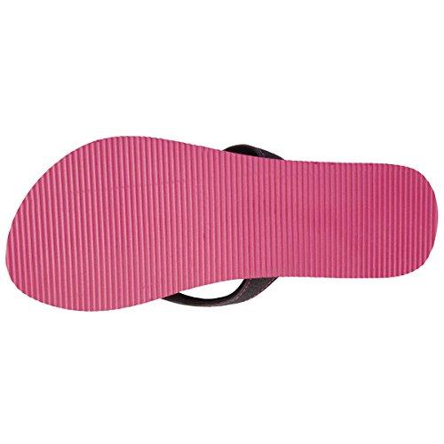 Chancletas yoga para mujer Isotoner Rosa