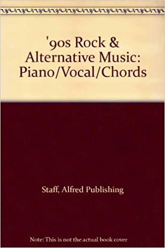 90s Rock Alternative Music Pianovocalchords Alfred Music