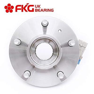 FKG 513121 Front Wheel Bearing and Hub Assembly fit for Impala, Allure, Aurora, Bonnevile, Lesabre, Century, Seville 5 Lugs W/ABS: Automotive
