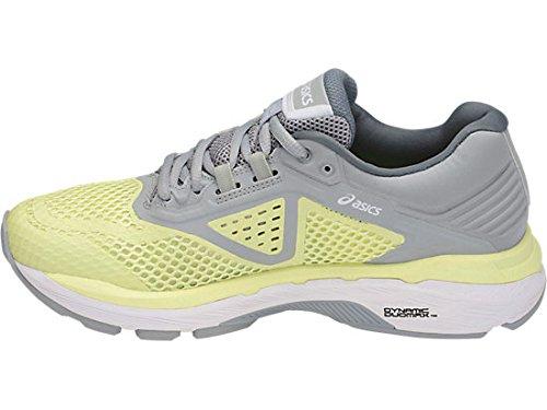 ASICS Women's GT-2000 6 Running Shoe, Limelight/White/Mid Grey, 5 M US by ASICS (Image #3)