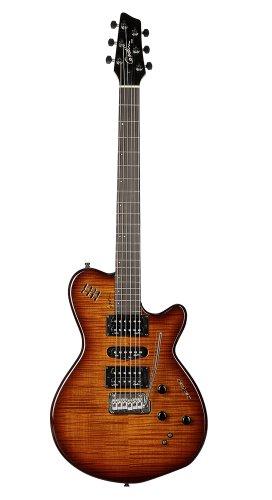 (Godin XTSA Solid Body 3-Voice Electric Guitar (Light Burst))
