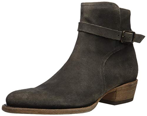 FRYE Men's Grady Jodphur Western Boot, Faded Black, 10.5M Medium US ()