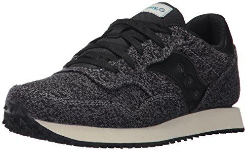 Saucony Originals Womens Dxn Trainer CL Knit Sneaker Black