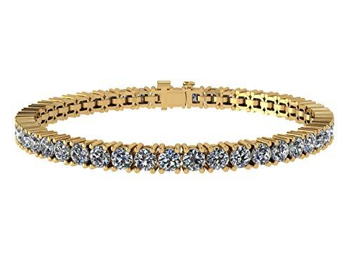 - NANA Silver Swarovski CZ Tennis Bracelet- 8