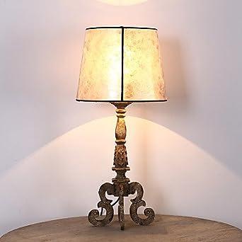 Única cabeza Vintage creativo Industrial vieja lámpara de mesa de ...