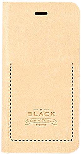 Zenus ZA400375 Black Tesoro Diary Case in Beige für Apple iPhone 6