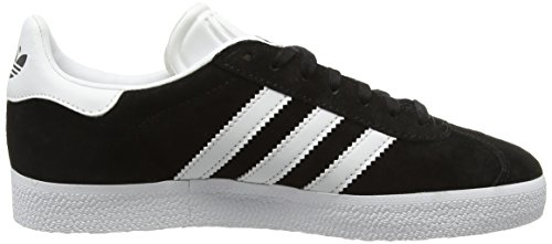 buy cheap great deals newest cheap online adidas Mens Gazelle Nubuck Trainers Black White clearance huge surprise sale really 6FQqAZvav