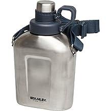 Stanley Adventure Canteen 1L Water Bottle One Size Steel Navy