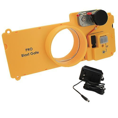 iVAC PBG04 Pro Electrically Driven Blast Gate. Automated Dust Control by iVAC