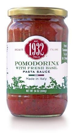 Menu 1932 Pomodorina with Fresh Basil Pasta Sauce, 24 oz (Pack of 4) (Menu Pomodorina Sauce)