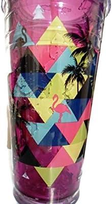 Cool Gear 24 oz Gel congelador vaso de refrigeración (morado ...