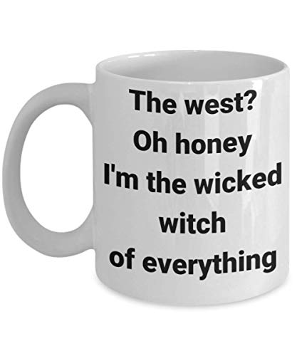 Mrs Wicked Witch Mug The West Oh Honey I'm The Wicked, used for sale  Delivered anywhere in USA