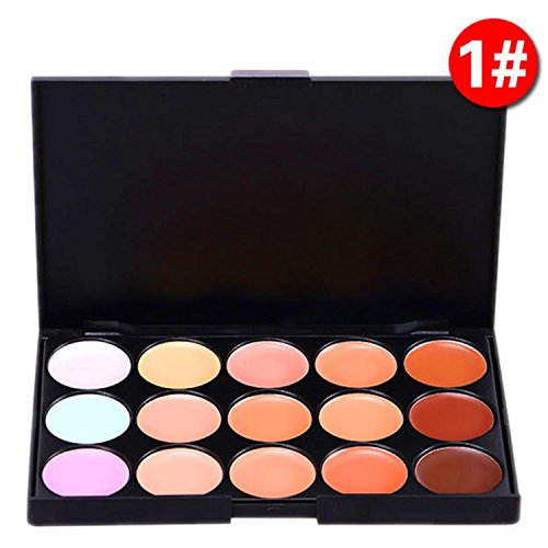 Goldenfox Women Cosmetic Professional Neutral Face Makeup Concealer Palette Concealers & Neutralizers by Goldenfox
