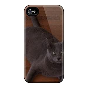 Fashion DLS922KCdw Case Cover For Iphone 4/4s(hot Dog Cat)