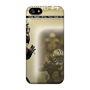 Premium Durable New Orleans Saints Fashion Tpu Iphone 5/5s Protective Case Cover