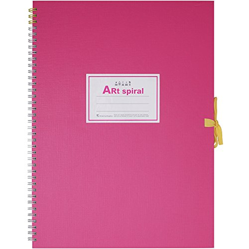 Maruman Art Spiral Sketch Book F4 Pink