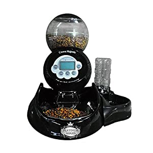 Crown Majestic Platinum Series Dog and Cat Automatic Pet Feeder 1