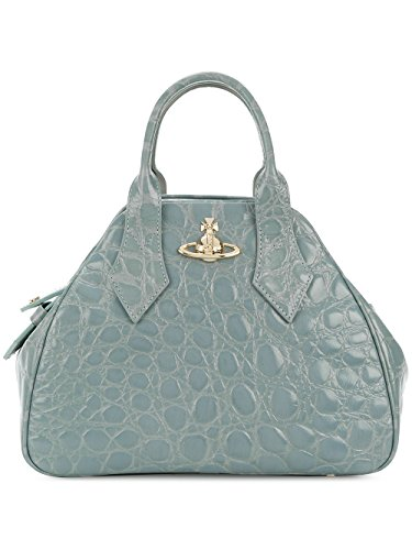 4502000140249K401 Westwood Vivienne Mujer Mano Bolso De Azul Cuero Ezx8gxwq
