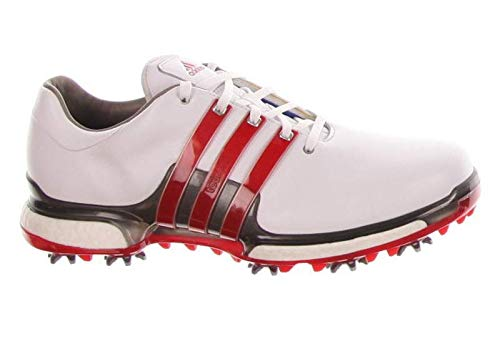 huge selection of 9a318 a7861 adidas New Mens Golf Shoe Tour 360 Boost 2.0 Medium 10 WhiteRedGrey