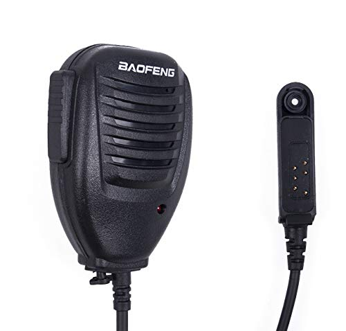 Mengshen Baofeng Original Microphone Speaker Mic for BaoFeng Waterproof Radio BF-A58 BF-9700 GT-3WP