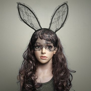 sexy-lace-rabbit-ears-hair-hoop-hair-band-party-dance-mask