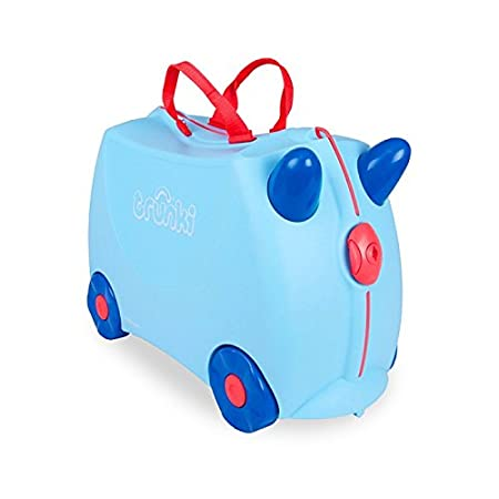 Trunki 10109 - Equipaje infantil,18 liters, color azul: Amazon.es: Equipaje
