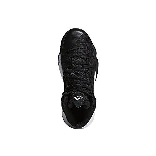 adidas Herren Dual Threat 2017 Basketballschuhe Schwarz (Cblack)