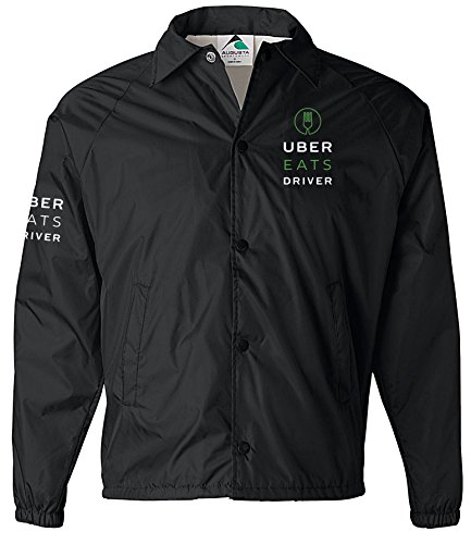 UBER EATS Jacket Windbreaker, UBER Jacket, Ridesharing, Taxi, Professional