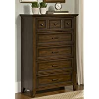 Liberty Furniture 461-BR41 Laurel Creek 5-Drawer Chest, 35 x 17 x 51, Cinnamon