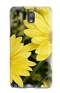 jody grady's Shop Unique Design Galaxy Note 3 Durable Tpu Case Cover Yellow Color Flowers