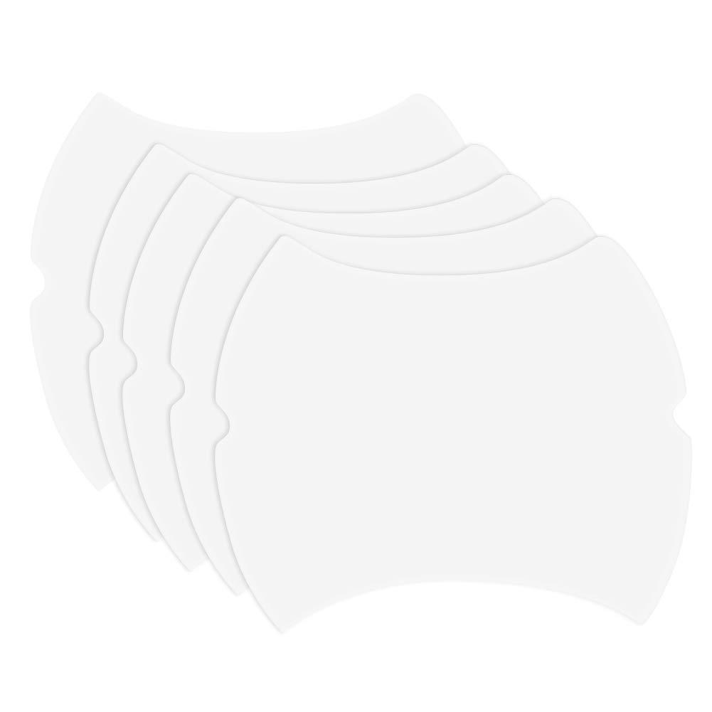 EffulxS Adesivi Auto Maniglia, 5PCS Universale Invisibile Auto Maniglia Graffi pellicole di Protezione Sticker